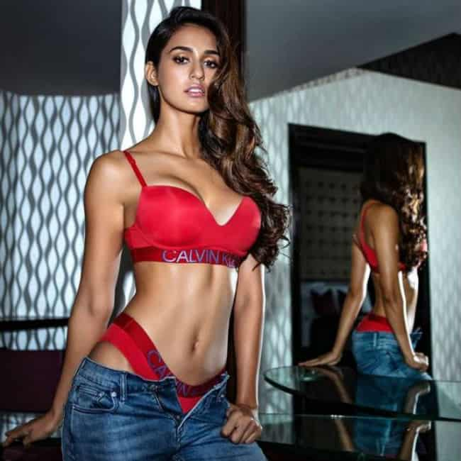disha-patani-hot-images-red-bikini